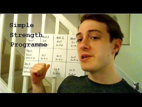 Simple Strength Programme