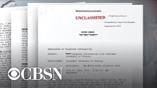 Special Report: Trump-Ukraine phone call partial transcript released