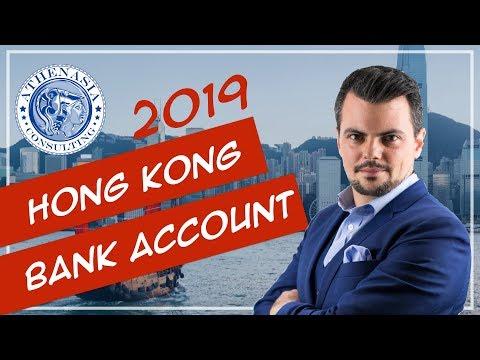 Open a Bank Account in Hong Kong