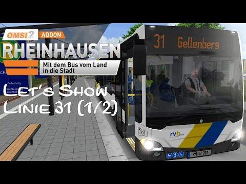 OMSI 2 Addon Rheinhausen Linie 31 (1/2) | C2Ü | Linie 31 Wickenberg → Gellenberg ☆ Let's Play OMSI 2