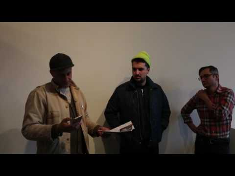 gallery conversation with Ben Hall, Andrew Mehall and Jason Murphy at Simone DeSousa Gallery
