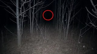 EXPLORING HAUNTED FOREST AT 3 AM! *SCARY* (CAUGHT ON CAMERA)