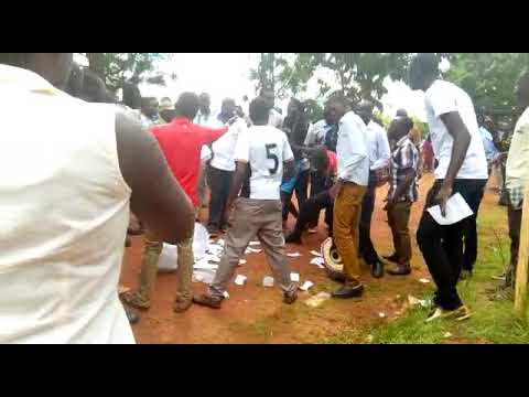 UGANDA: Breaking News Chaos at Gulu University, election stopped.