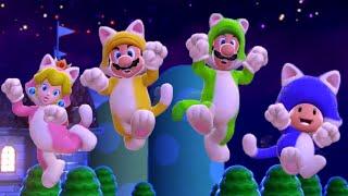 Super Mario 3D World 100% Walkthrough Part 5 - World Star