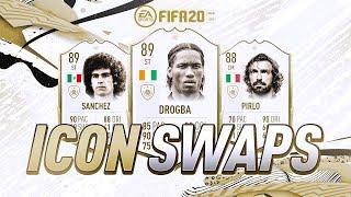 FIFA 20 ICON SWAPS! - FIFA 20 Ultimate Team