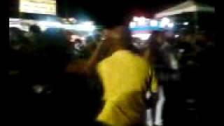 Bailando en las Patronales con Carlos y Yorna
