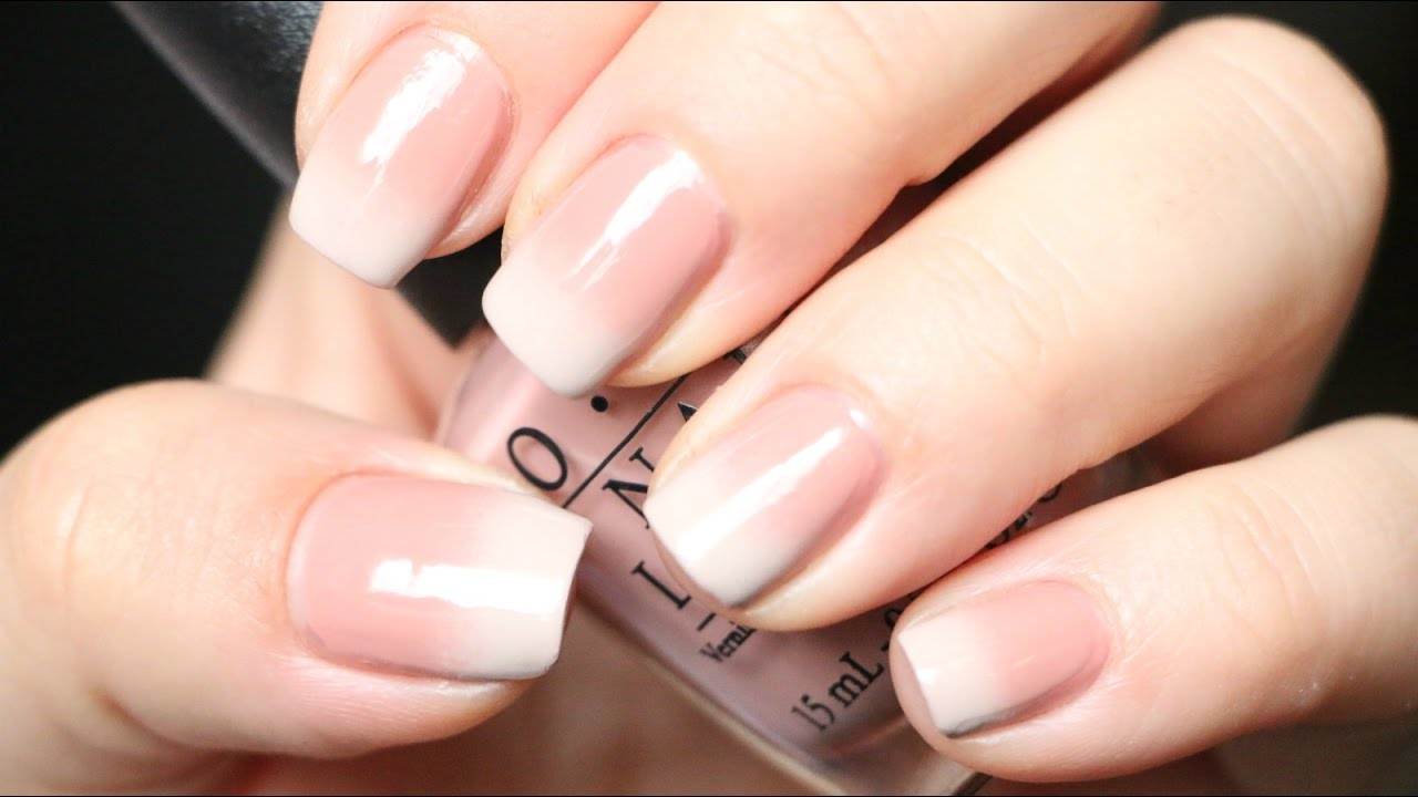 DISEÑO DE UÑAS DEGRADADO / OMBRE NAILS - YouTube