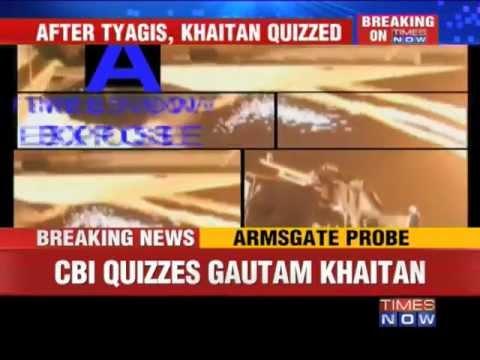 Armsgate: CBI questioned Gautam Khaitan