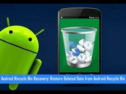Best Recycle Bin for Android || Restore Deleted Files!