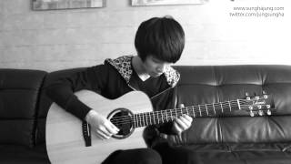 Kim Dong Ryul) 출발(Start)   Sungha Jung Acoustic Tabs Guitar Pro 6