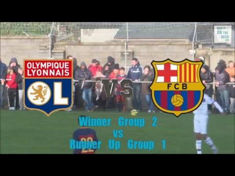 FC Barcelona vs Olympique Lyonnais - Semi Final Academy Cup 2016