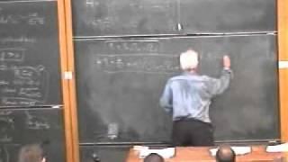 Cosmology, George Ellis | Lecture 2 Part 4