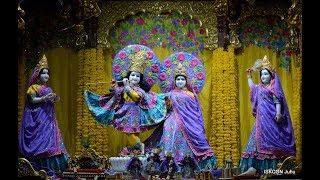 Mangal Arati Darshan Sri Sri Radha Rasbihari Temple 16th Jan 2019 Live from ISKCON Juhu, Mumbai