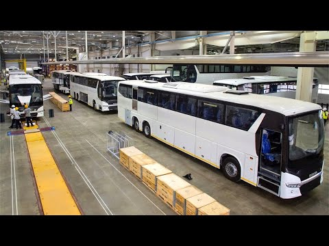 Scania Luxury Bus Production Factory