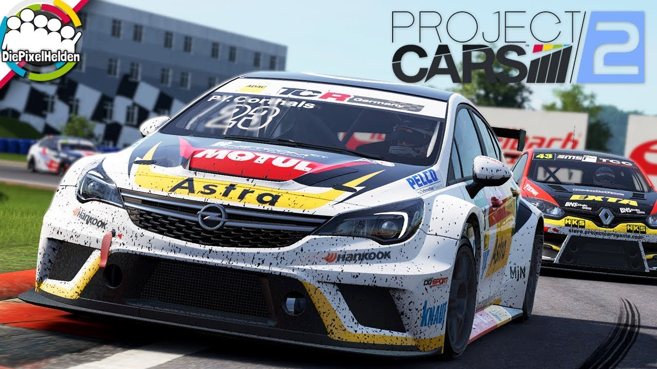 project cars 2 opel astra tcr oschersleben let 39 s. Black Bedroom Furniture Sets. Home Design Ideas