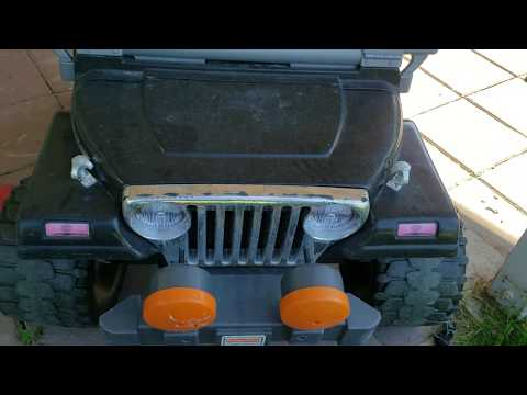 Quick And CHEAP Replacement For Power Wheels Battery.