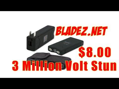 Wholesale Stun Guns | 3 Million Volt Stun Gun $8.00 Bladez.net Daily Deals