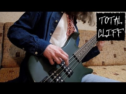 Metallica Fade to Black bass cover (free bass tab on AndriyVasylenko.com) #TotalCliff