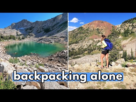BACKPACKING SOLO: 10 Mile Backpacking Trip Alone