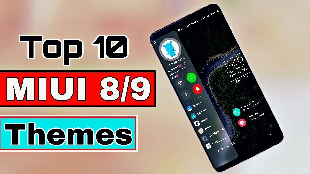 best miui 10 themes