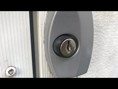 Camper Door Handle Repair