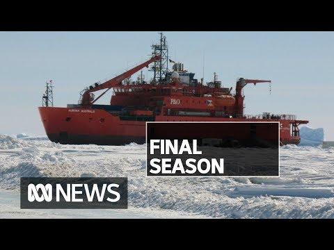Icebreaker Aurora Australis Prepares For Last Antarctic Season   ABC News