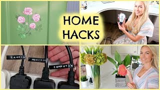 HOME HACKS  | AD  |  ORGANISE YOUR HOME  | EMILY NORRIS
