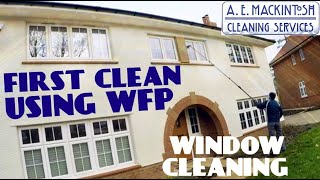 Gambar cover A First Clean Using Pure Water Fed Pole - Professional Window Cleaning