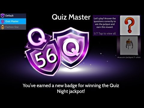 Avakin Life | QUIZ MASTER BADGE