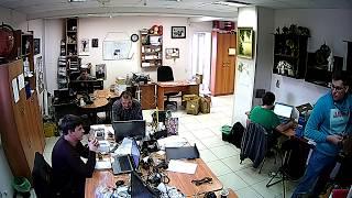 Фрагмент записи видео с камеры Link HR08-8G