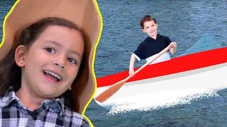 Row! Row! Row Your Boat! | Songs for Kids!