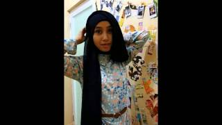 tutorial hijab by farah #7
