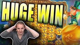 HUGE WIN on JACK IN A POT Slot