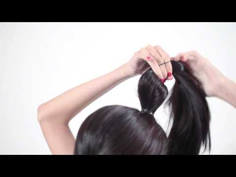 Hair Fashion Video Tutorial: Bubble Ponytail Hairstyle