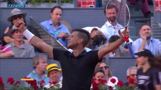 Best shots and rallies as Dominic Thiem beats Rafael Nadal | Mutua Madrid Open 2018 Quarter-Final