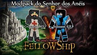 Minecraft Fellowship #01 (Modpack do Senhor dos Anéis) - Começa uma série ÉPICA!!!