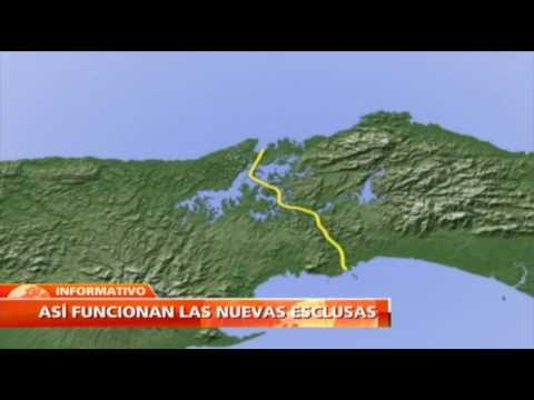 Tecnología de las nuevas esclusas en el Canal de Panamá permitirá reutilizar el 60 % del agua