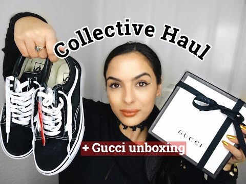 Collective Try On Haul -HRH Collection, Zara, Vans + Gucci Unboxing