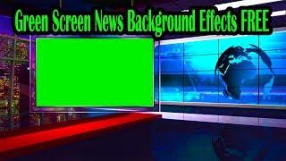 screen background newsroom effects 4k