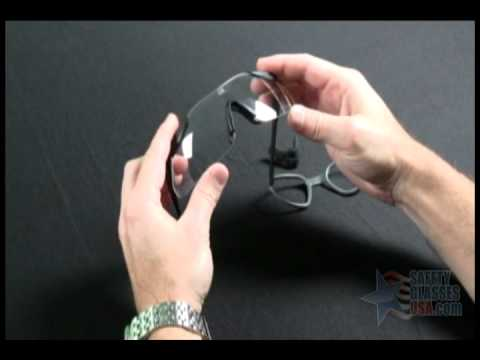 4b0b107bda7c4 How to install the ESS P-2B Rx Insert into ESS ICE Safety Glasses ...