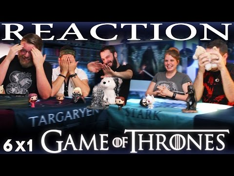 "Game of Thrones 6x1 Season Premiere REACTION!! ""The Red Woman"""