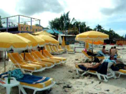 St. Martin ~ Day after Hurricane Omar at Orient Beach