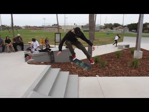 OVER 20 Minutes Of Kickflips - KNOCK OUT
