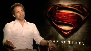 Man Of Steel (2013) Zack Synder Interview [HD]