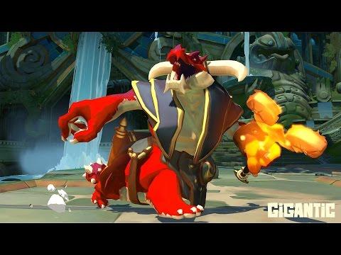 видео: Огненный дракон - gigantic