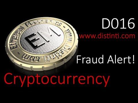 D16: Cryptocurrency Fraud Alert!