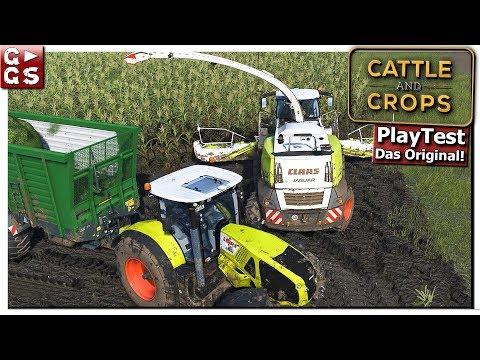 Cattle And Crops   BGA Auftrag: CLASS Jaguar und 3 Abfahrer! #14 PlayTest