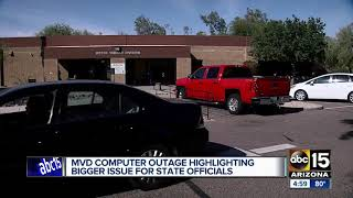 Here is why the MVD computer outage is a big deal and a concern
