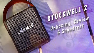 Marshall Stockwell 2 Portable Bluetooth Speaker - Soundtest and Review