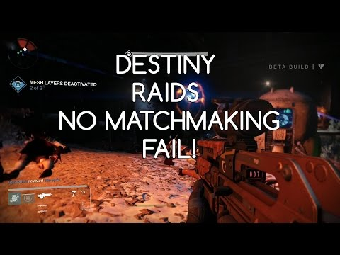 destiny 2 raid no matchmaking